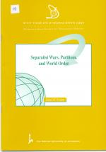 Separatist Wars, Partition, and World Order