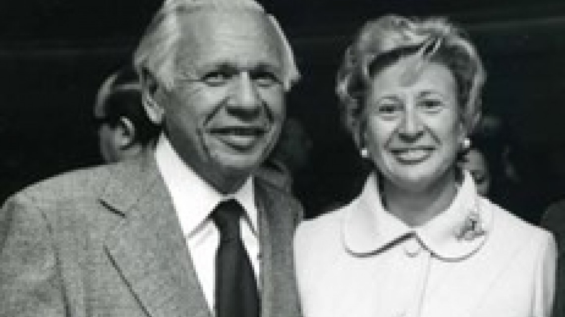 Leonard and Sophie Davis